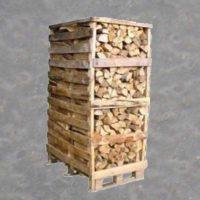 Brændetårn – Egetræ ca. 2,0 Stablet. rm. Tørt